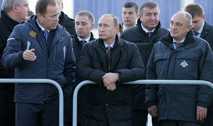 Путин предложил провести первые пуски с космодрома Восточный весной 2016 года
