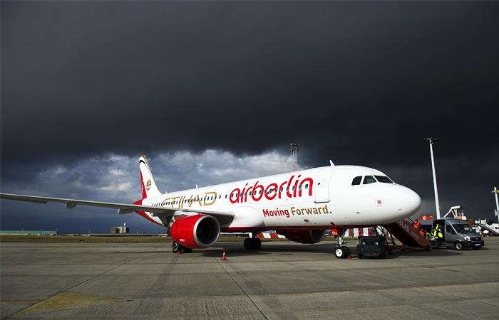 Air Berlin с января прекратит полеты в Россию
