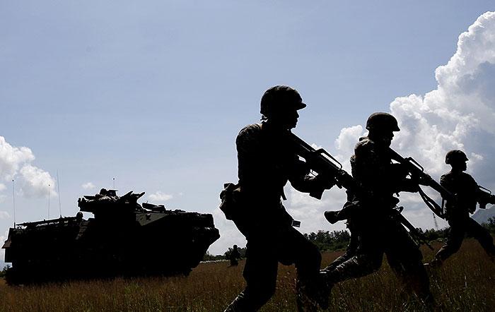 Половина россиян назвала угрозу нападения на Россию реальной