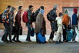 Тысячи мигрантов отправились в Словению после закрытия границ Венгрии