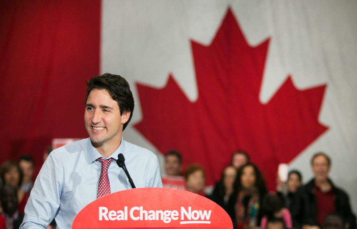 Новый премьер Канады пообещал сделать голос страны громче