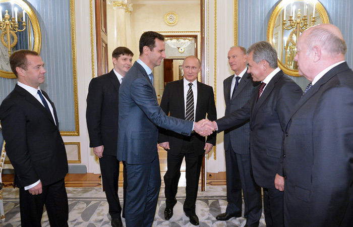 В Кремле рассказали о визите Асада в Россию