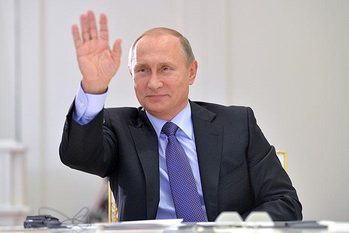 Рейтинг Путина в октябре установил новый рекорд