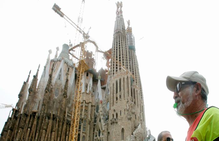 Храм Гауди в Барселоне станет самым высоким религиозным зданием Европы