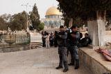 За Храмовой горой установят круглосуточное наблюдение