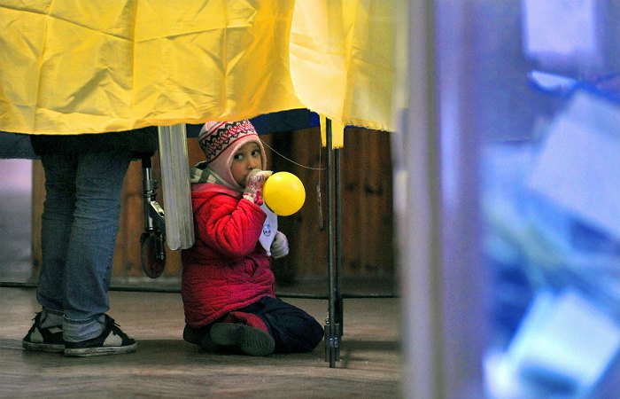 На Украине началось голосование на местных выборах