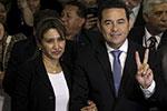 Новым президентом Гватемалы избран бывший комик