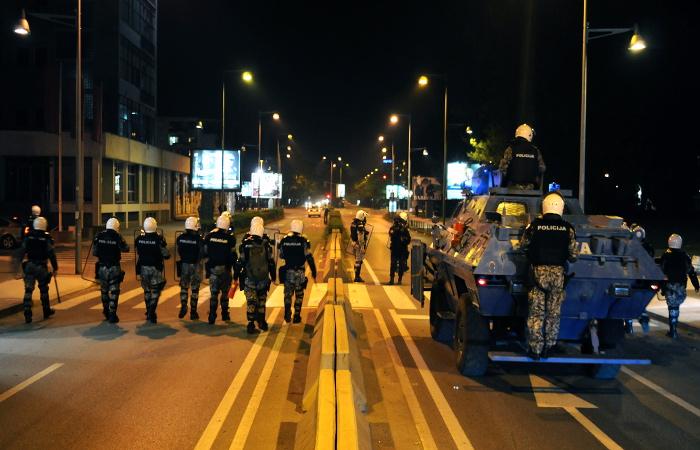 Черногория вновь обвинила Москву в причастности к акциям протеста