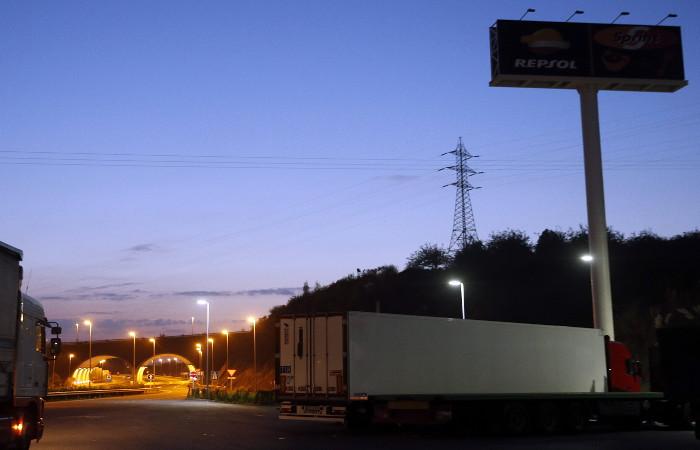 На болгаро-турецкой границе обнаружили рефрижератор с мигрантами