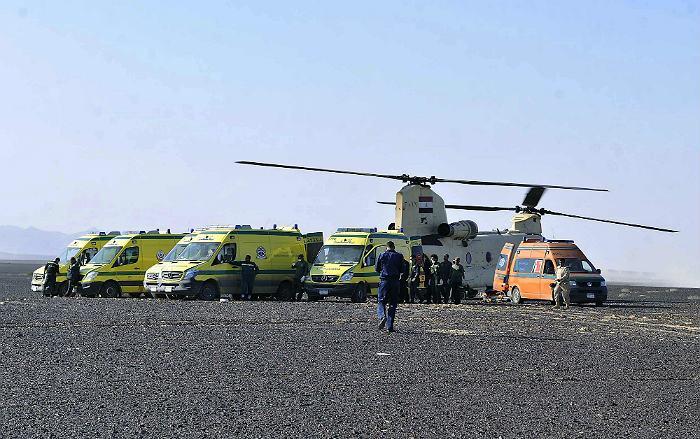 Тела погибших на Синае начнут доставлять в РФ не раньше вечера воскресенья