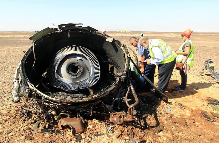 В МАК заявили о разрушении самолета А321 в воздухе