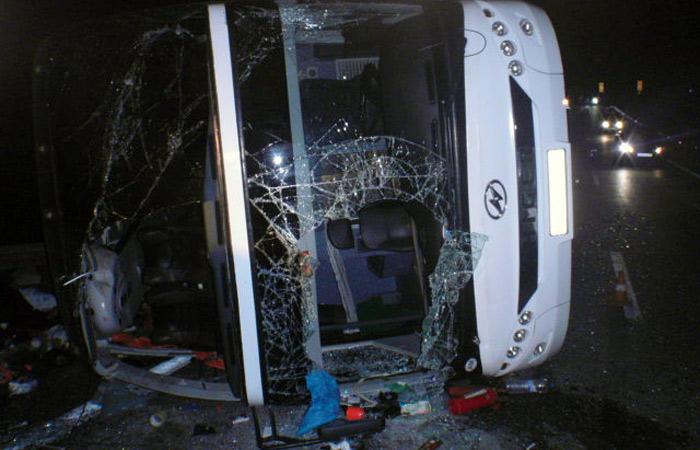 Тульский губернатор сообщил о 47 пострадавших в ДТП с автобусом
