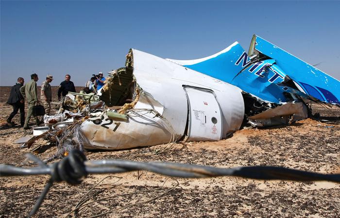 США предлагали России содействие в связи с катастрофой А321 над Синаем