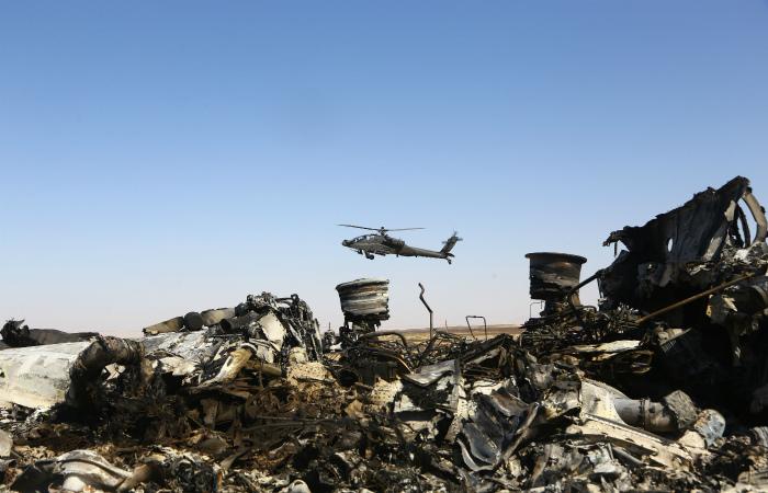 Американский спутник зафиксировал тепловую вспышку над Синаем в момент падения А321