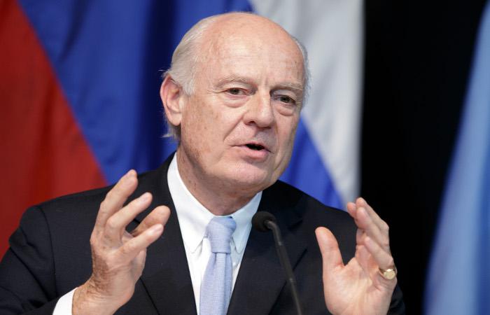 Спецпосланник ООН обозначил базу для переговоров переходного процесса в Сирии