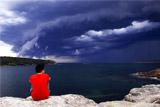 Небо Сиднея накрыла необычная лавина облаков