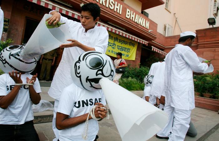 В Greenpeace заявили об отзыве лицензии на работу в Индии