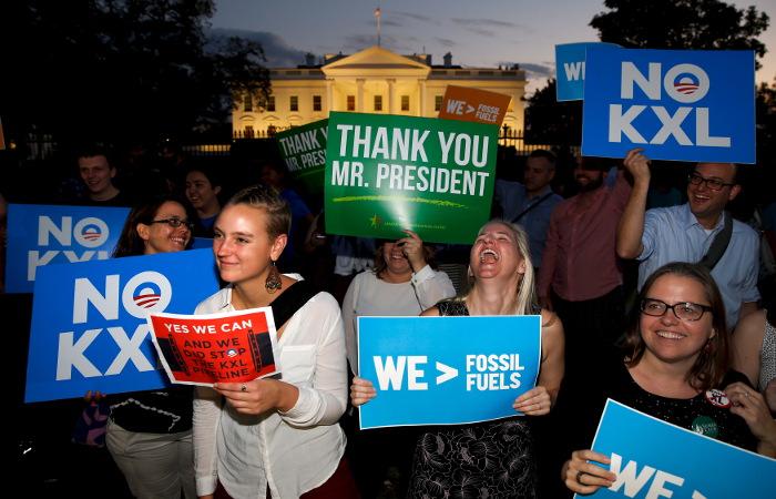 Обама запретил строительство нефтепровода Keystone XL