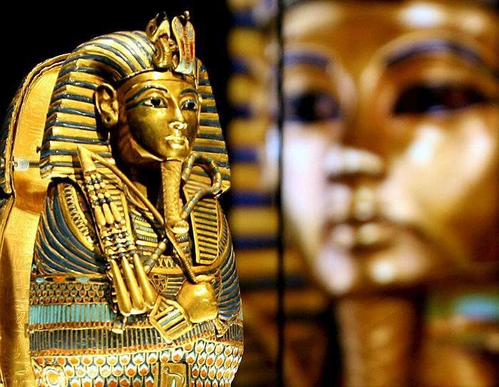 Инфракрасные снимки показали возможную тайную комнату в гробнице Тутанхамона
