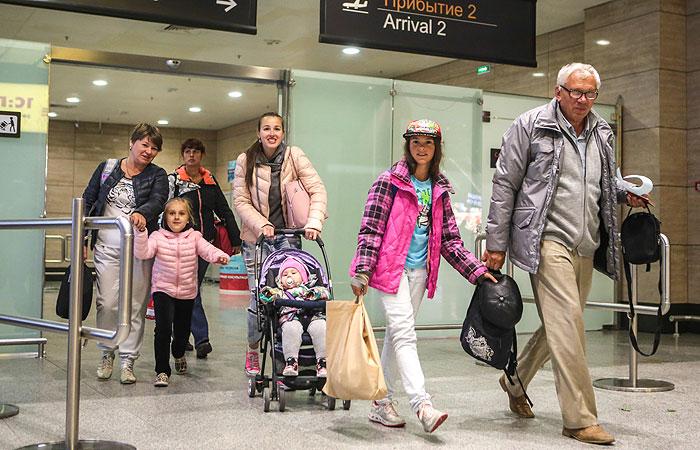 За сутки из Египта на родину возвращено около 11 тысяч россиян