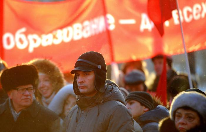 Россияне еще больше потеряли интерес к протестным акциям