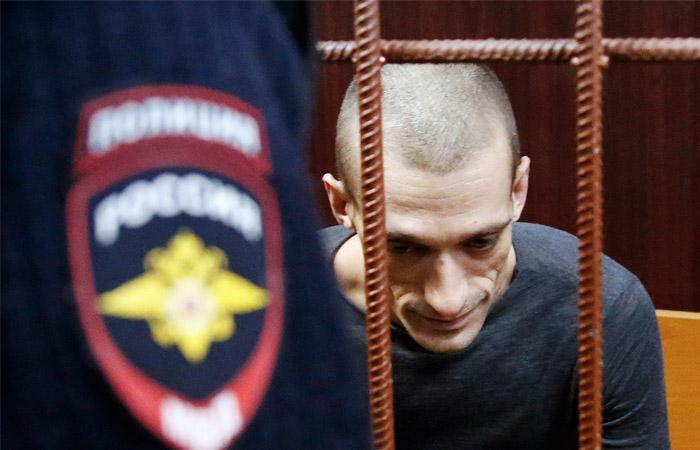 Суд арестовал акциониста Павленского за поджог двери ФСБ