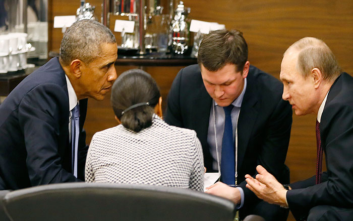 В Кремле рассказали о темах разговора Путина и Обамы на саммите G20