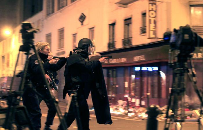 Французская полиция начала антитеррористические рейды