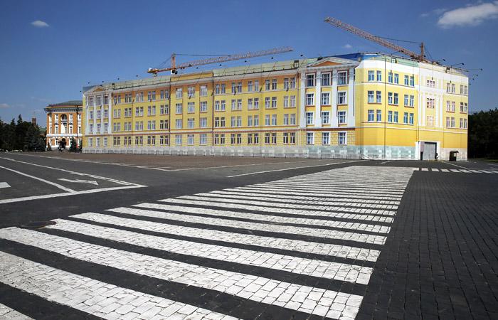 После демонтажа 14-го корпуса Кремля на месте здания проведут раскопки