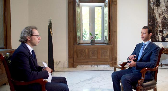 Асад исключил политический переход в Сирии до победы над терроризмом