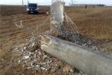 Участники блокады разрешат ремонт подорванных опор ЛЭП под Херсоном