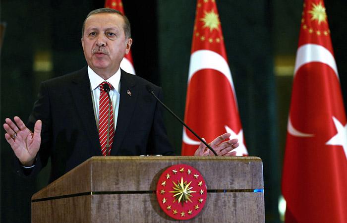 Эрдоган заявил о найденных на территории Турции обломках Су-24