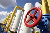 Поставки российского газа на Украину прекращены до новых платежей