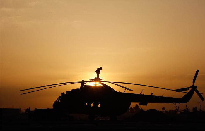 Вертолет Ми-8 разбился в Красноярском крае