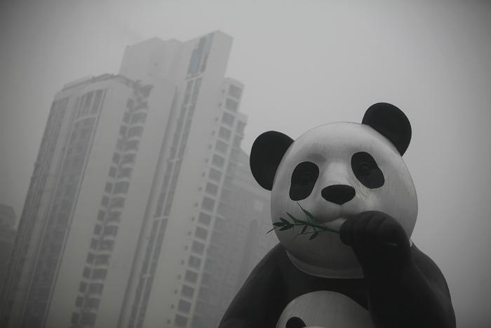 В Пекине объявлен предпоследний уровень опасности из-за смога