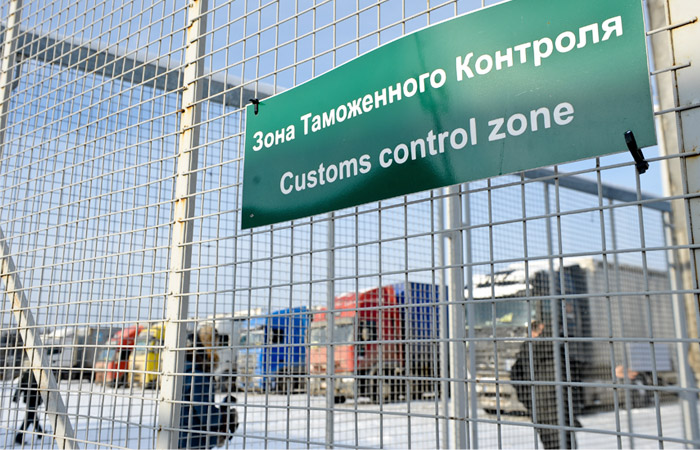 Турецкие грузы застряли на российской таможне