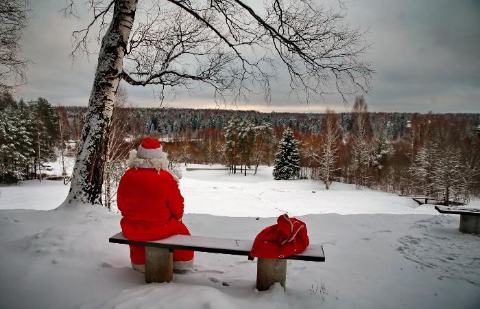 Предновогоднее турне Деда Мороза пройдет через Латвию