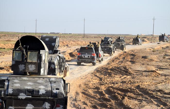 Иракская армия закрепилась в отбитом у боевиков районе города Рамади