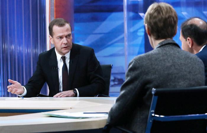 Медведев назвал блэкаут в Крыму геноцидом со стороны Украины