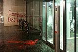 В Гамбурге неизвестные атаковали офис Facebook