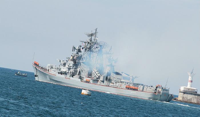 Корабль ВМФ РФ открыл огонь при опасном приближении турецкого судна