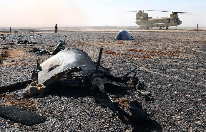 ФСБ обнаружила на борту разбившегося А321 следы аналога пластида