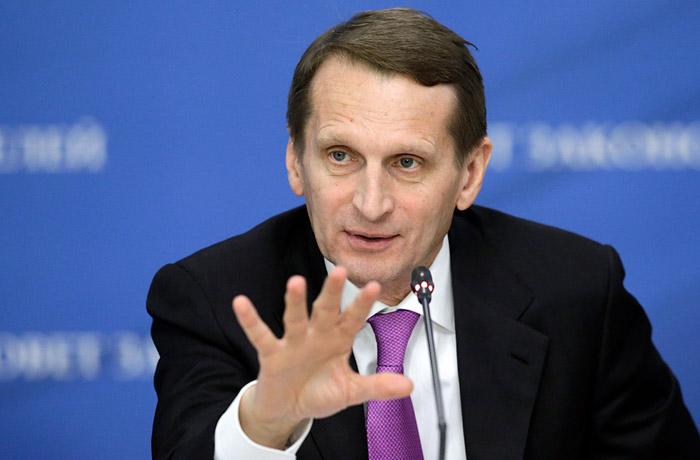 Нарышкин предложил распустить НАТО