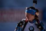 Подчуфарова стала третьей в масс-старте на этапе КМ по биатлону