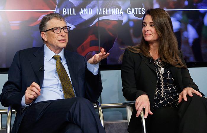 Билл Гейтс и его супруга Мелинда признаны самой богатой парой мира