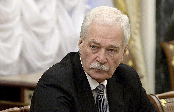 Путин назначил Грызлова представителем России в контактной группе по Украине