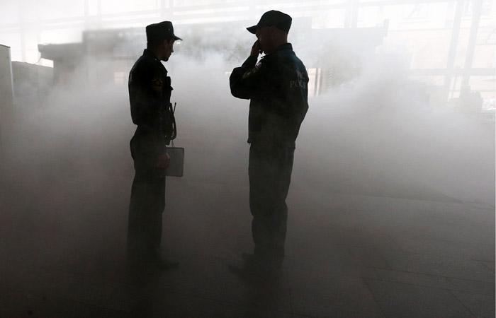Два человека погибли на пожаре в администрации красноярской Дудинки