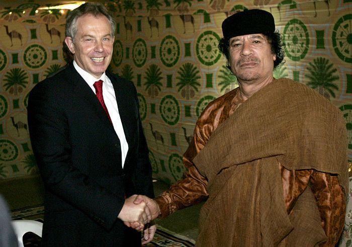 В Великобритании рассказали о предупреждении Каддафи насчет прихода боевиков