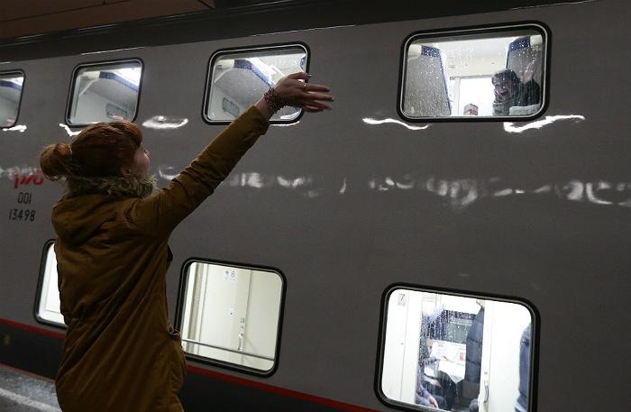 Второй двухэтажный поезд выйдет 1 февраля на маршрут Петербург-Москва