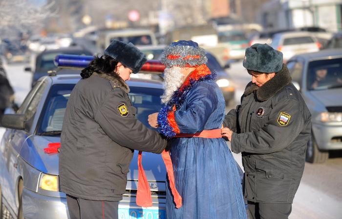 ГИБДД подвела итоги новогодних праздников в Москве